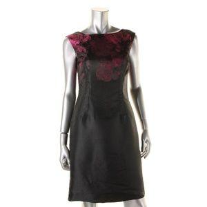 Alisa Cocktail Dress Metallic Jacquard